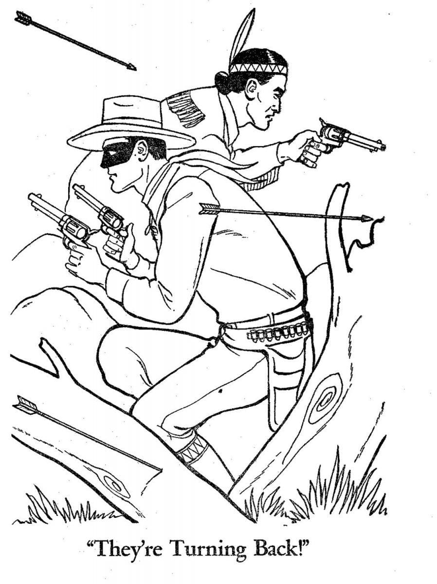 Best Of Lego Lone Ranger Coloring Pages Stock