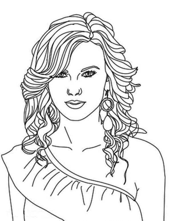 Pictures Of People To Color  2567671