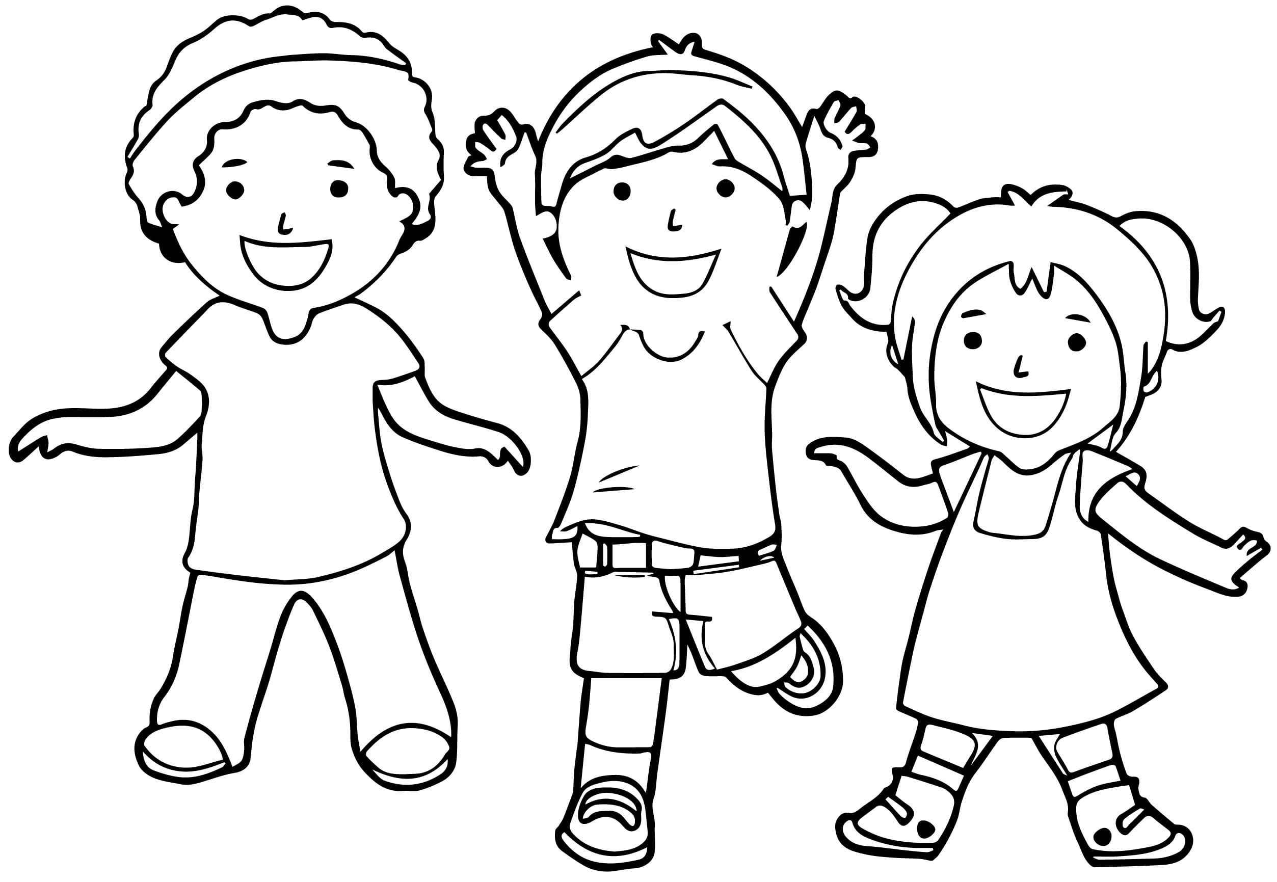 Child Colouring In 12284 And Activities For Children