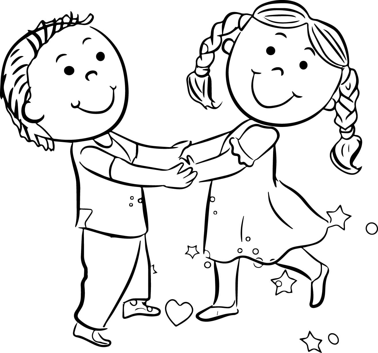 Children Coloring Pages Child And Galleries In