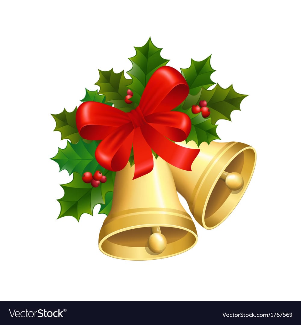 Christmas Bells Royalty Free Vector Image