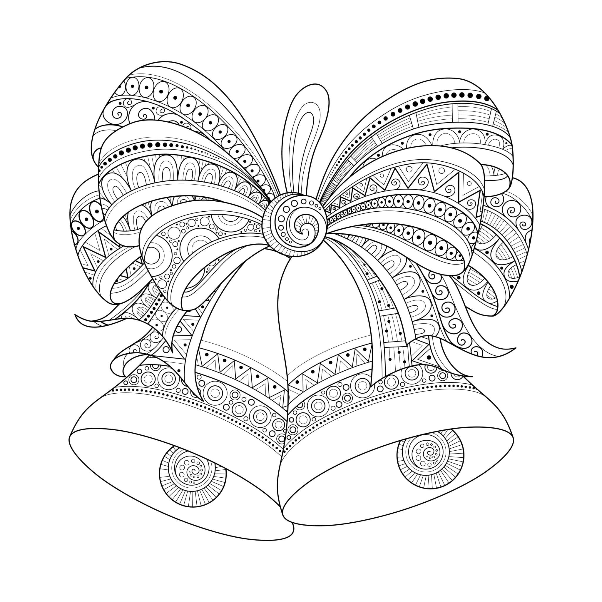 Christmas Coloring Pages For Adults At Free