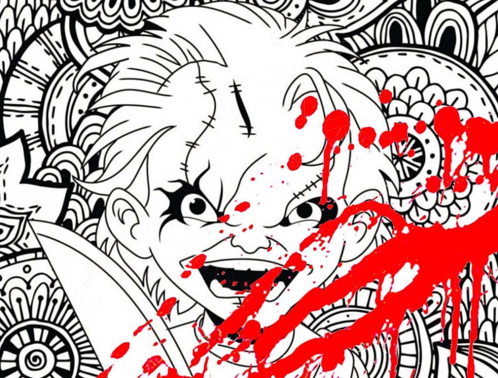 New Classic Horror Movie Coloring Pages !