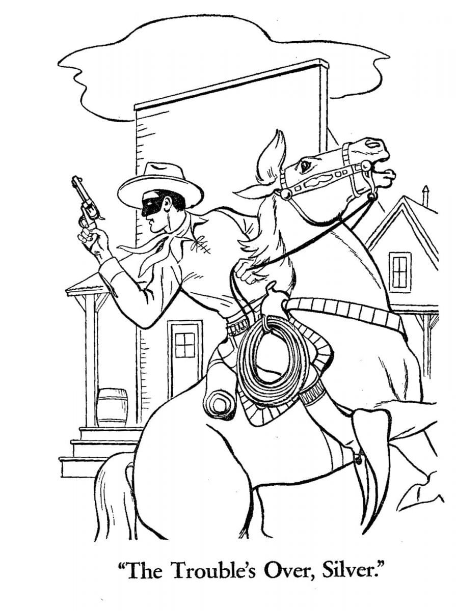Colorbook 5 Best Of Lego Lone Ranger Coloring Pages Stock