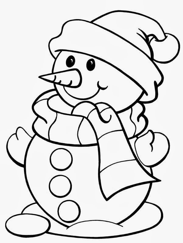 Coloring Pages Printable Christmas Free 184652
