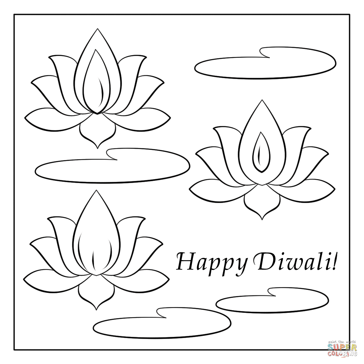 Diwali Coloring Pages - NEO Coloring