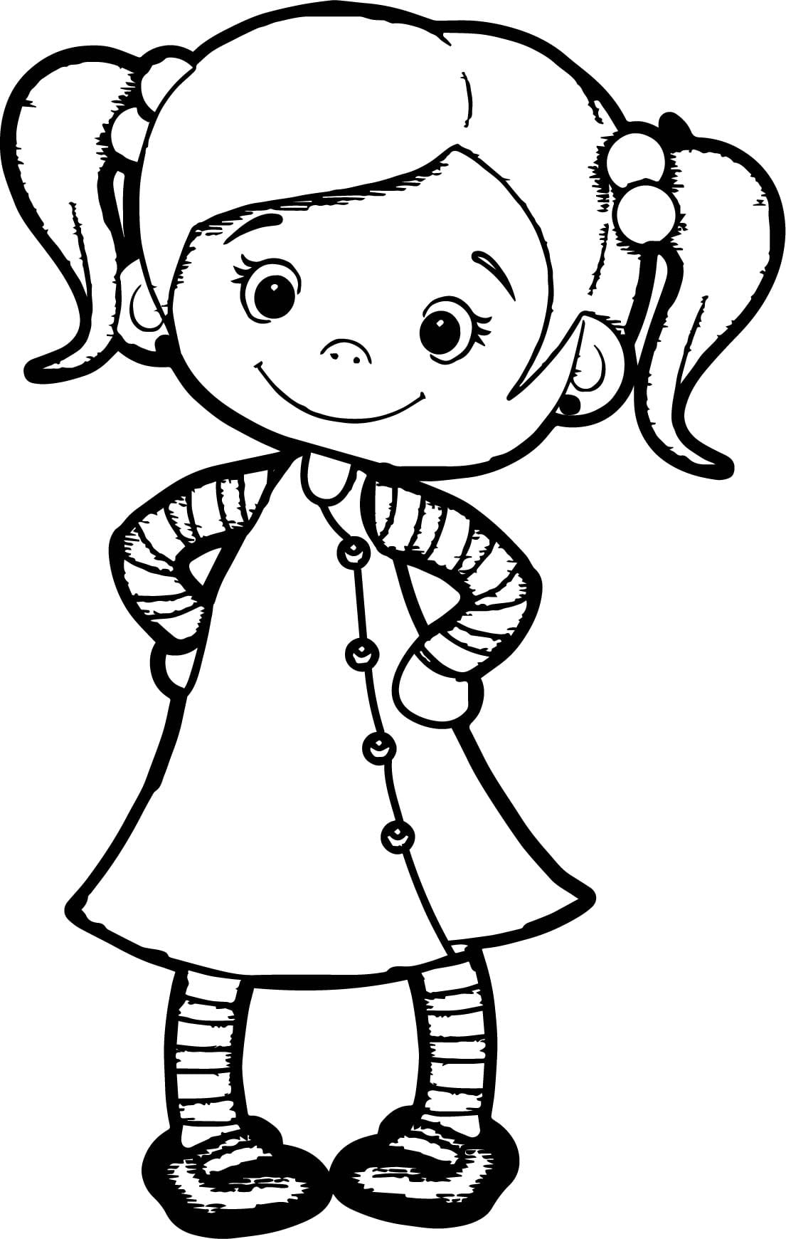 Cute Girl Coloring Pages Collection Printable And Girls Coking Me