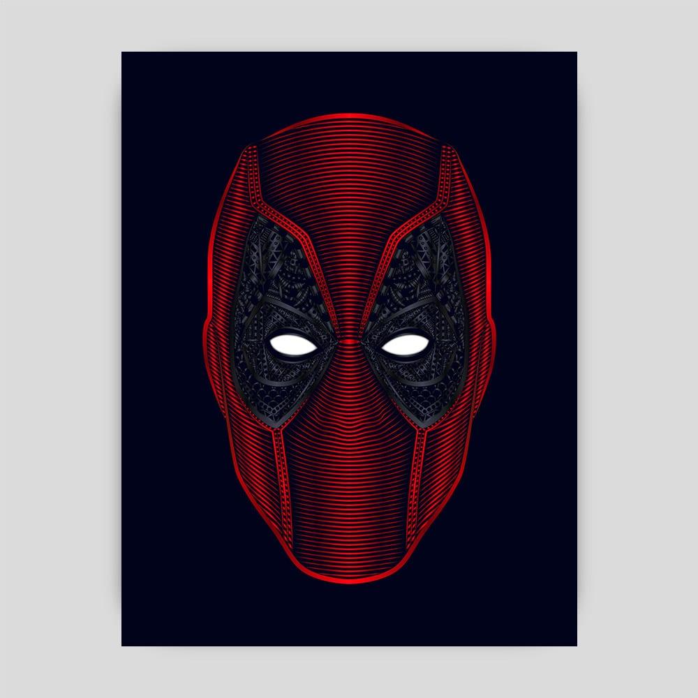 Marvel Deadpool Tribute Art Print