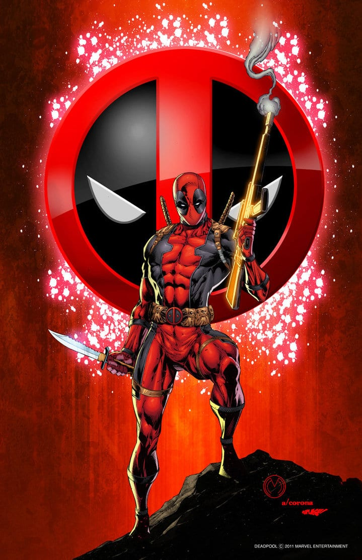Deadpool Print 1 By Adelsocorona On Deviantart