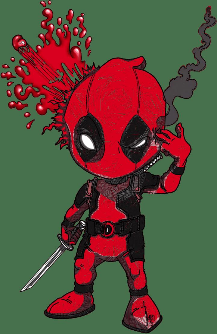 Deadpool Print By Oldxer On Deviantart