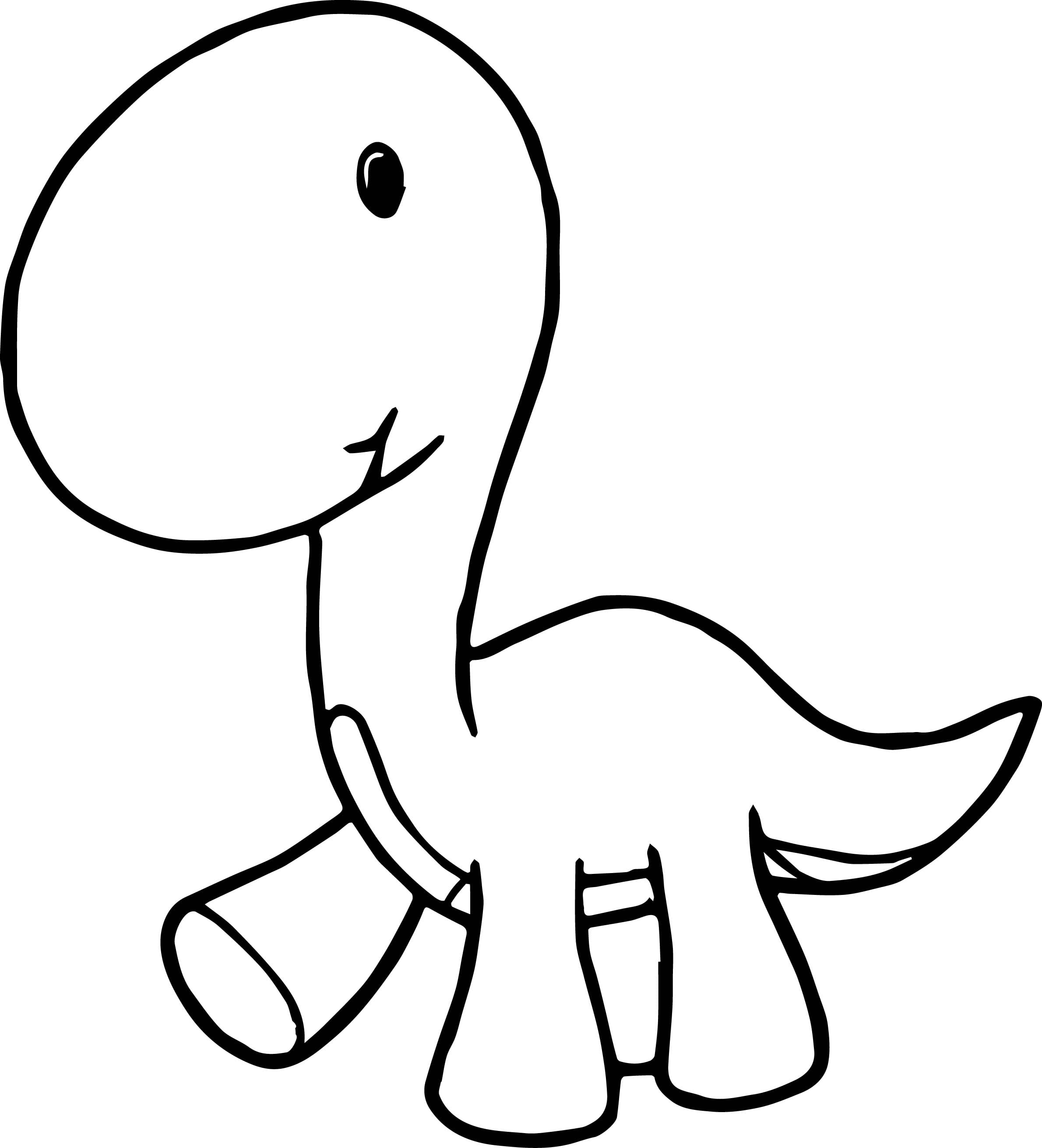 Dinosaur Cartoon Coloring Pages Free Sheets Triceratops