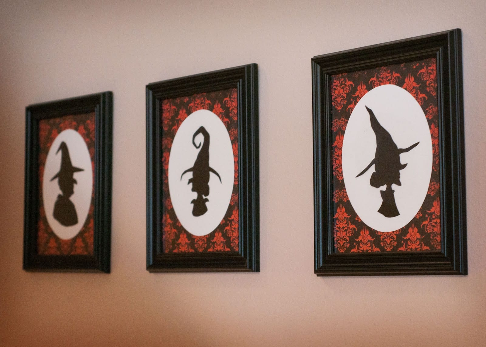 When Hinges Creak  Witch Silhouettes {free Printables}