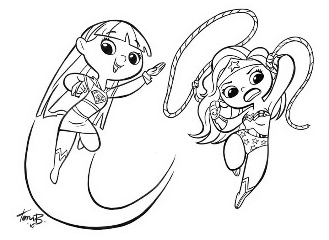 Supergirl Coloring Pages Superwoman Coloring Pages Now Batgirl