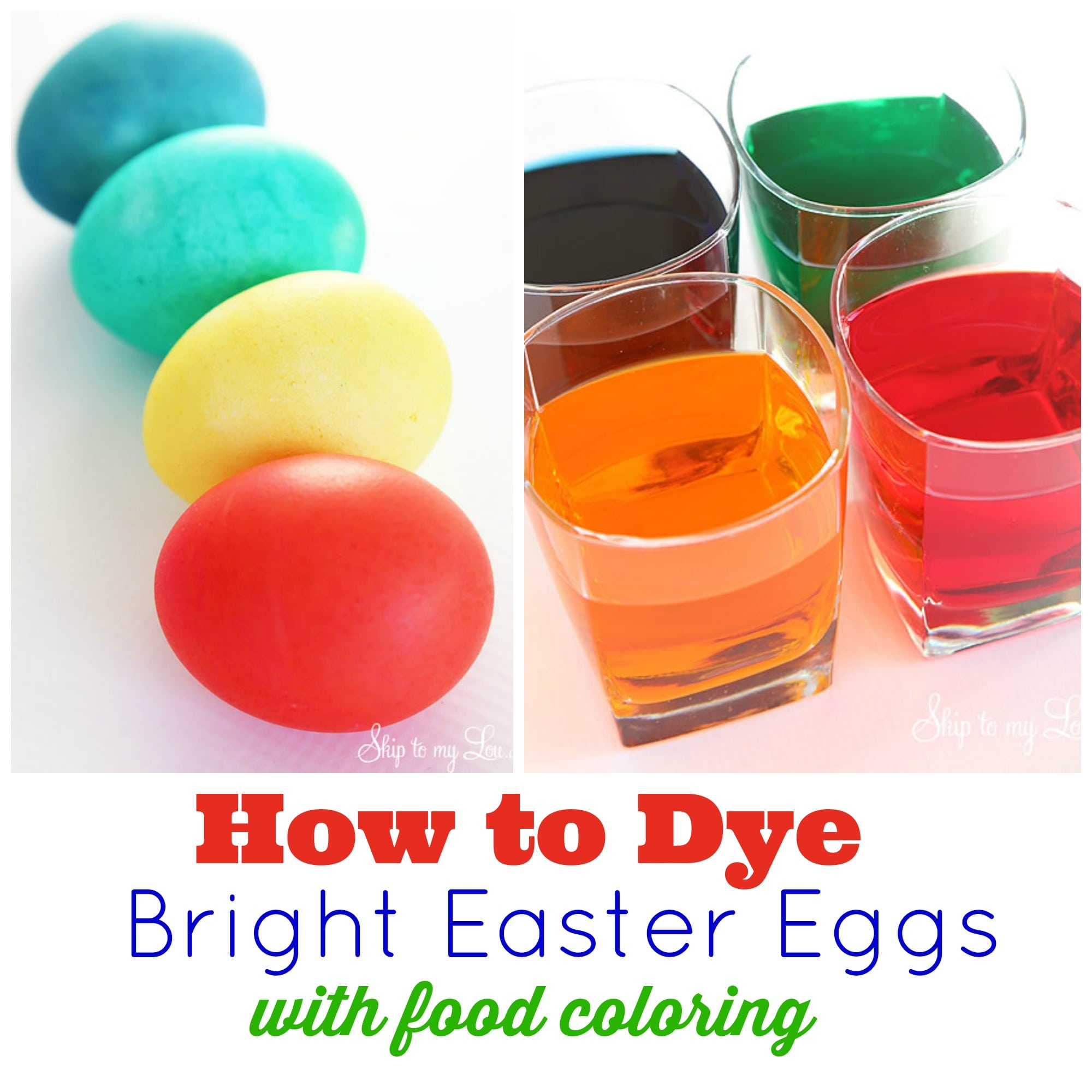 Dye Easter Eggs With Rice & Food Coloring It All Started, Coloring