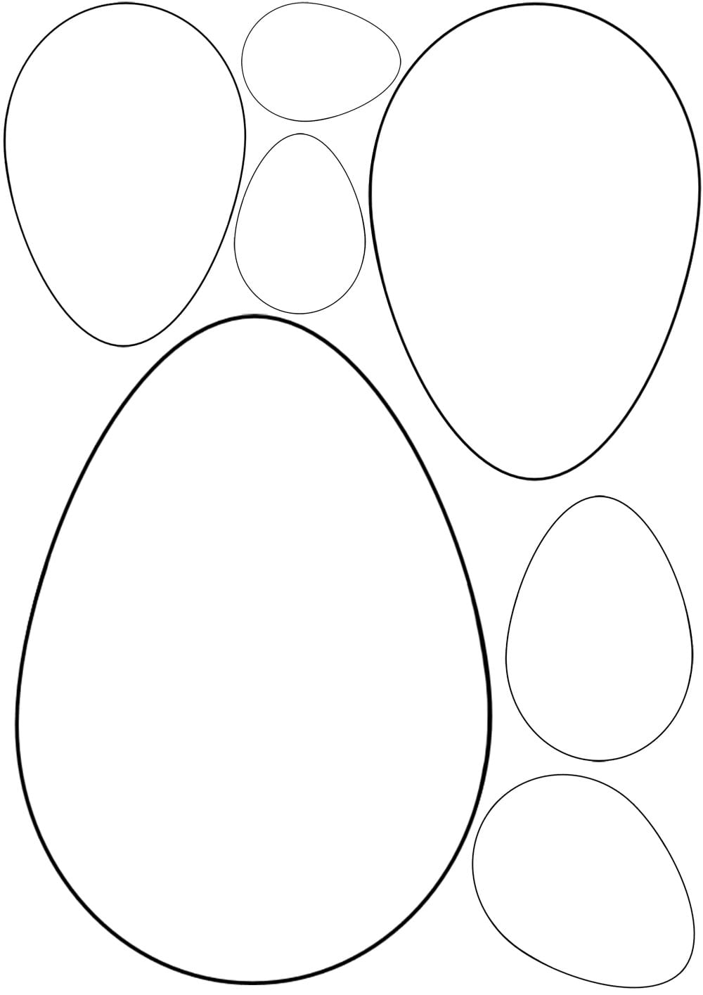 Egg Outline Drawing At Getdrawings Com