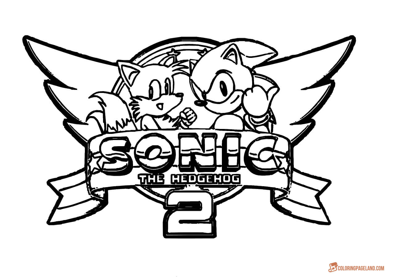 Fabulous Sonic The Hedgehog Cool Sonic The Hedgehog Coloring Book