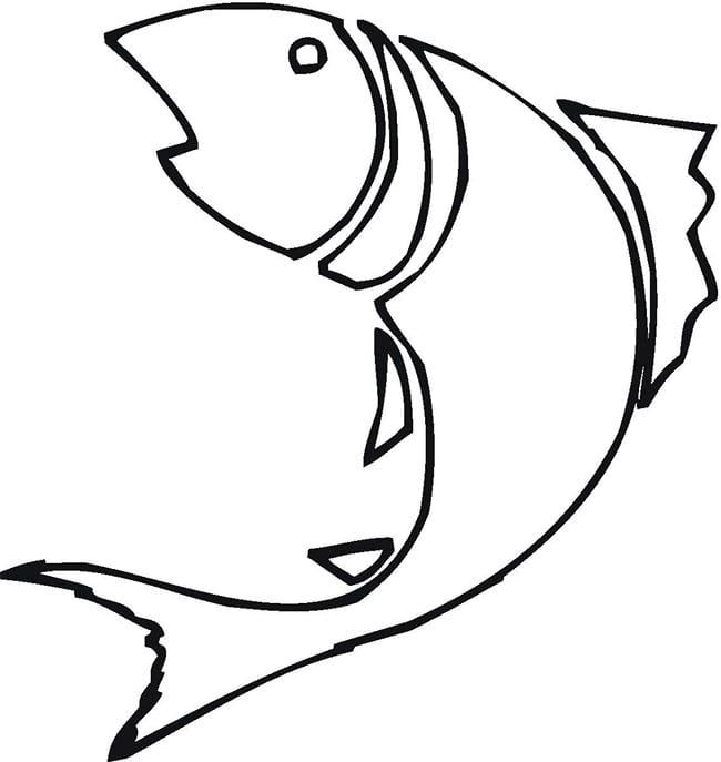 Fish Outline Image Fresh 13486