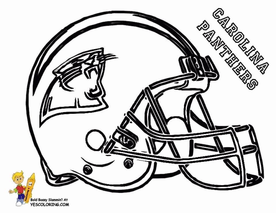 Football Helmet Coloring Page 0  15678