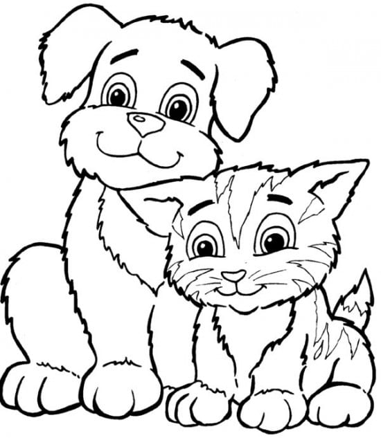 Free Coloring Pages Cat  2272975