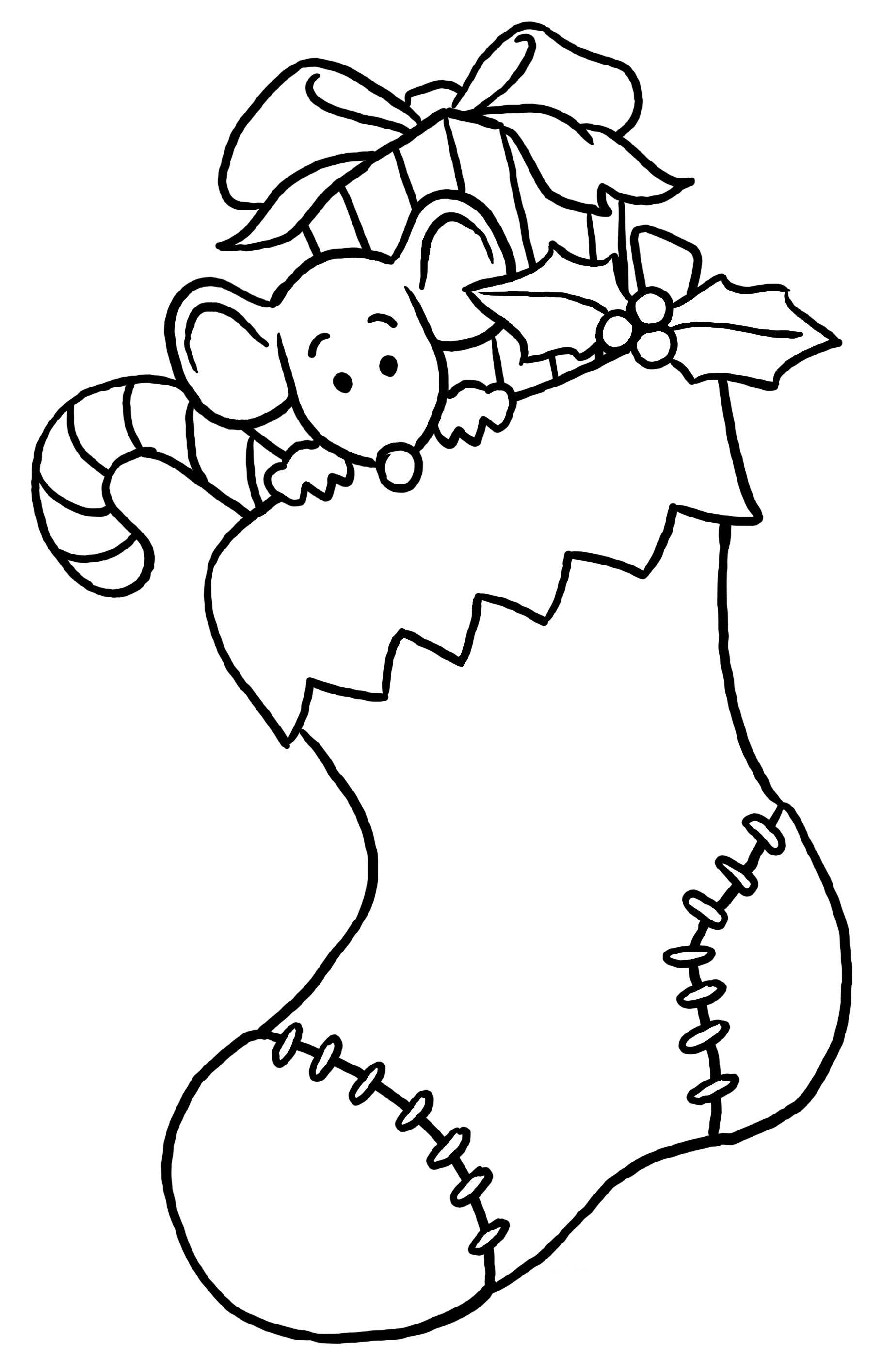 Free Christmas Coloring Pages For Preschoolers  2271187
