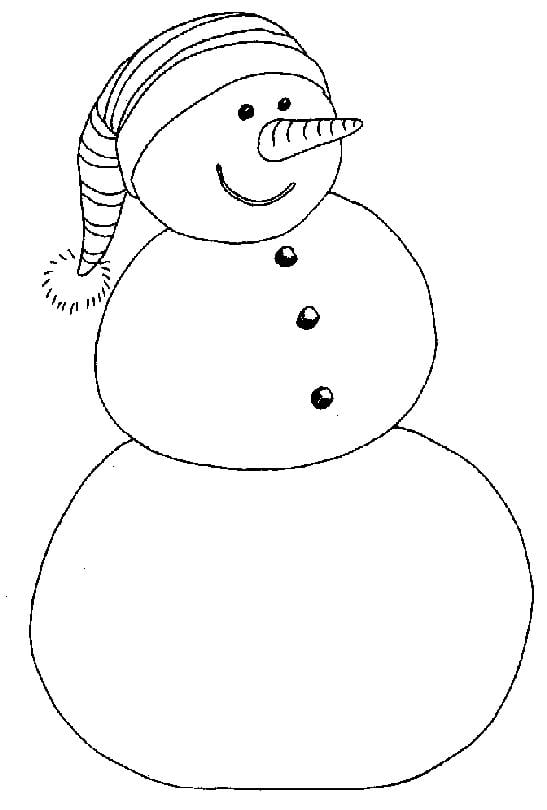 Free Preschool Coloring Pages Christmas 1346297