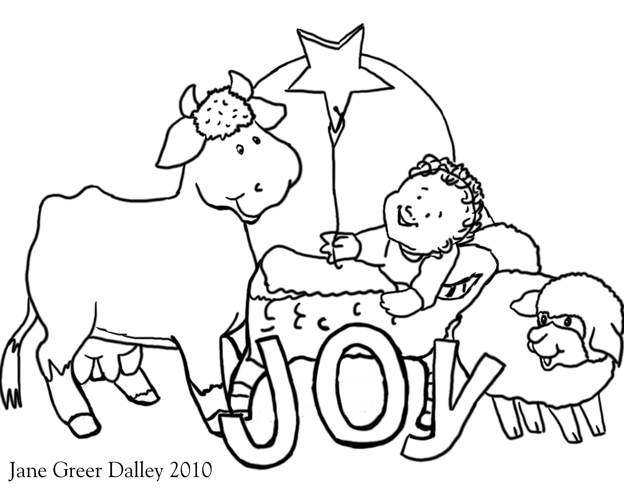 Free Preschool Coloring Pages Christmas 1346267