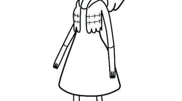 Adventure Time Marceline Coloring Pages
