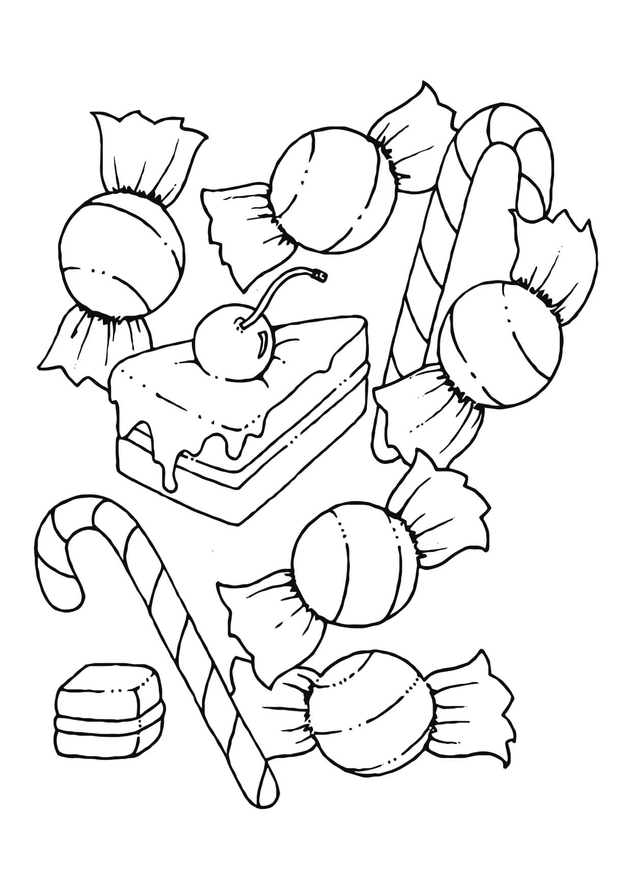 Free Printable Candy Coloring Pages For Kids Coloring Sheets 35279