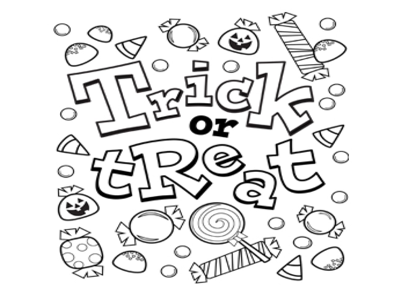 Free Printable Halloween Coloring Pages New For Kids