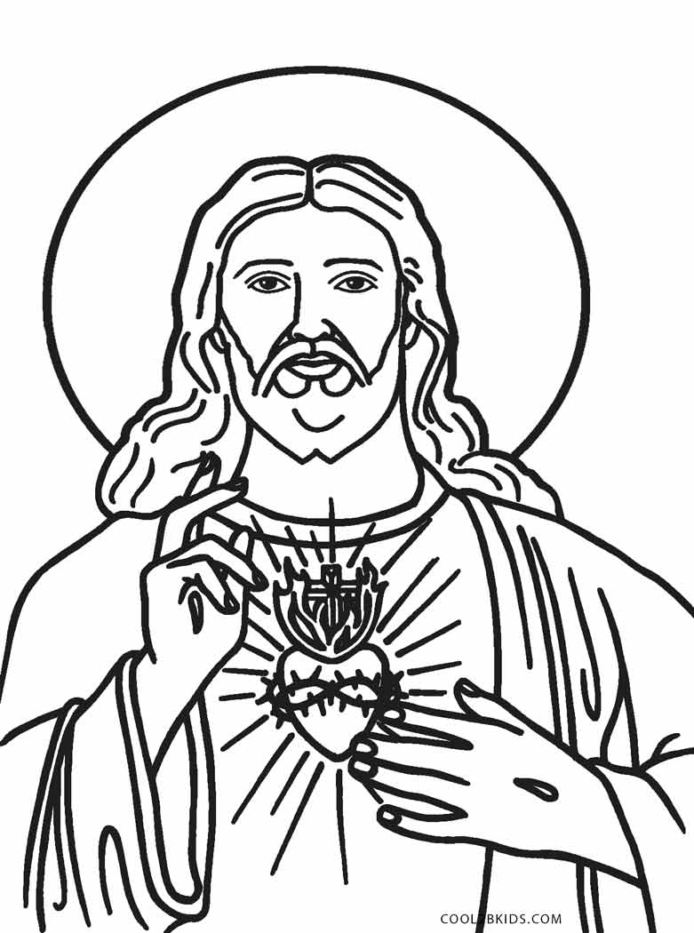 Free Printable Jesus Coloring Pages For Kids Cool2bkids Page