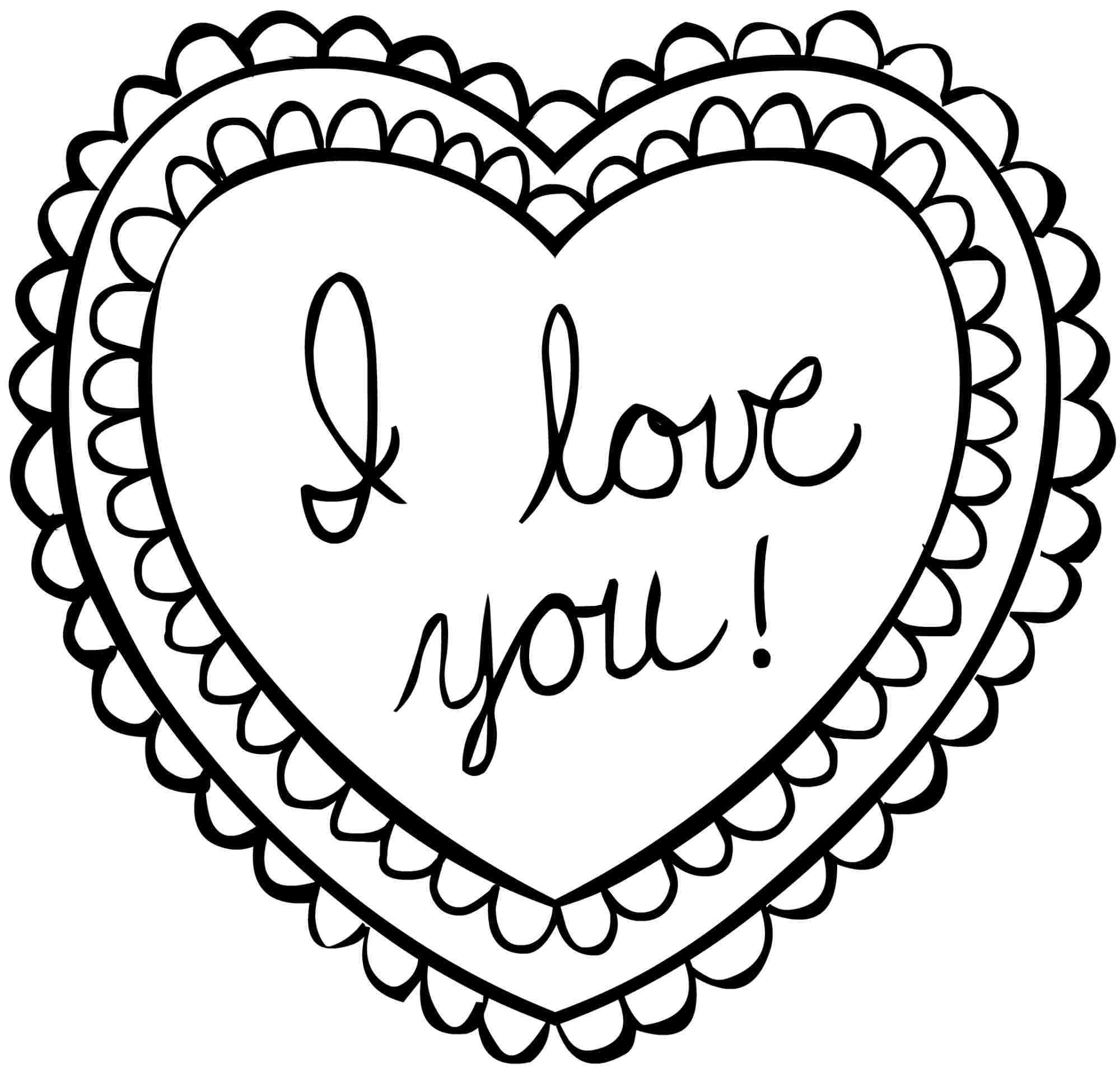 Valentines Coloring Pages Realistic Coloring Pages Valentines Day