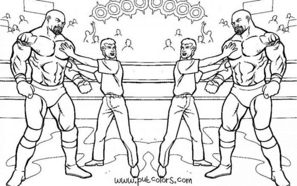 Free Wwe Coloring Pages 20 Free Printable Wwe Coloring Pages