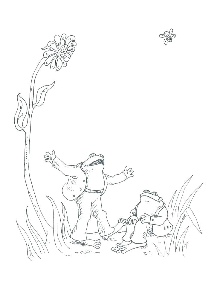 Frog And Toad Coloring Pages  13573