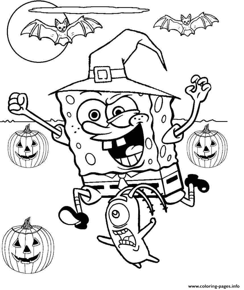 100+ Happy Halloween Coloring Pages, Sheets Free To Print