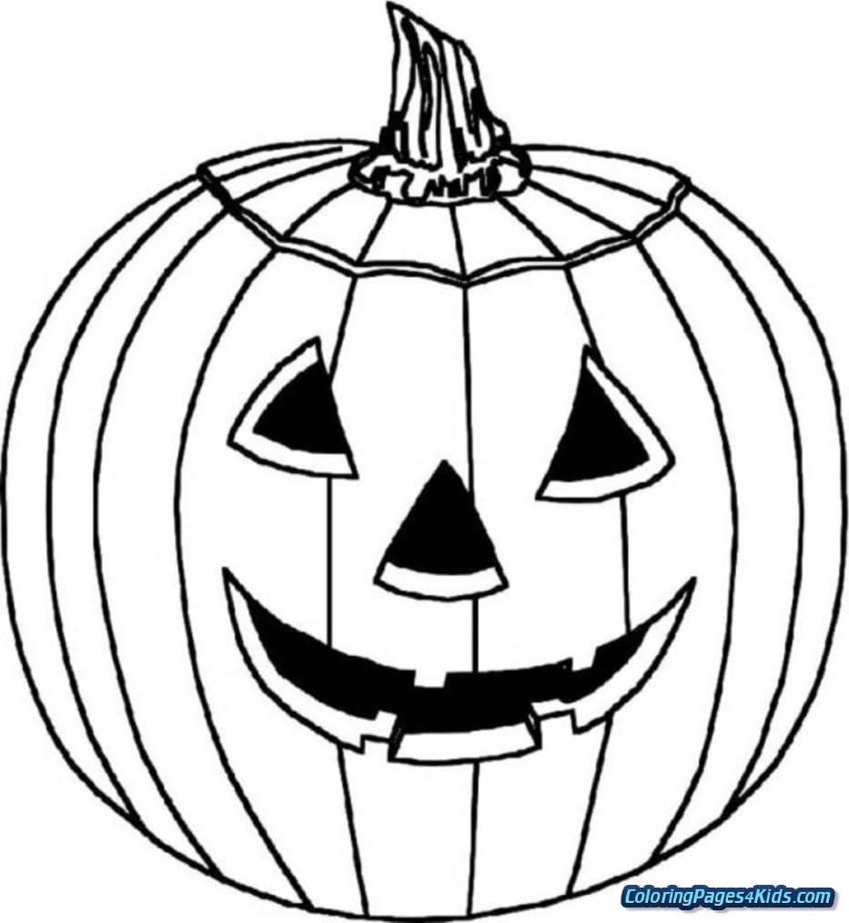 Free Printable Halloween Pumpkin Coloring Pages