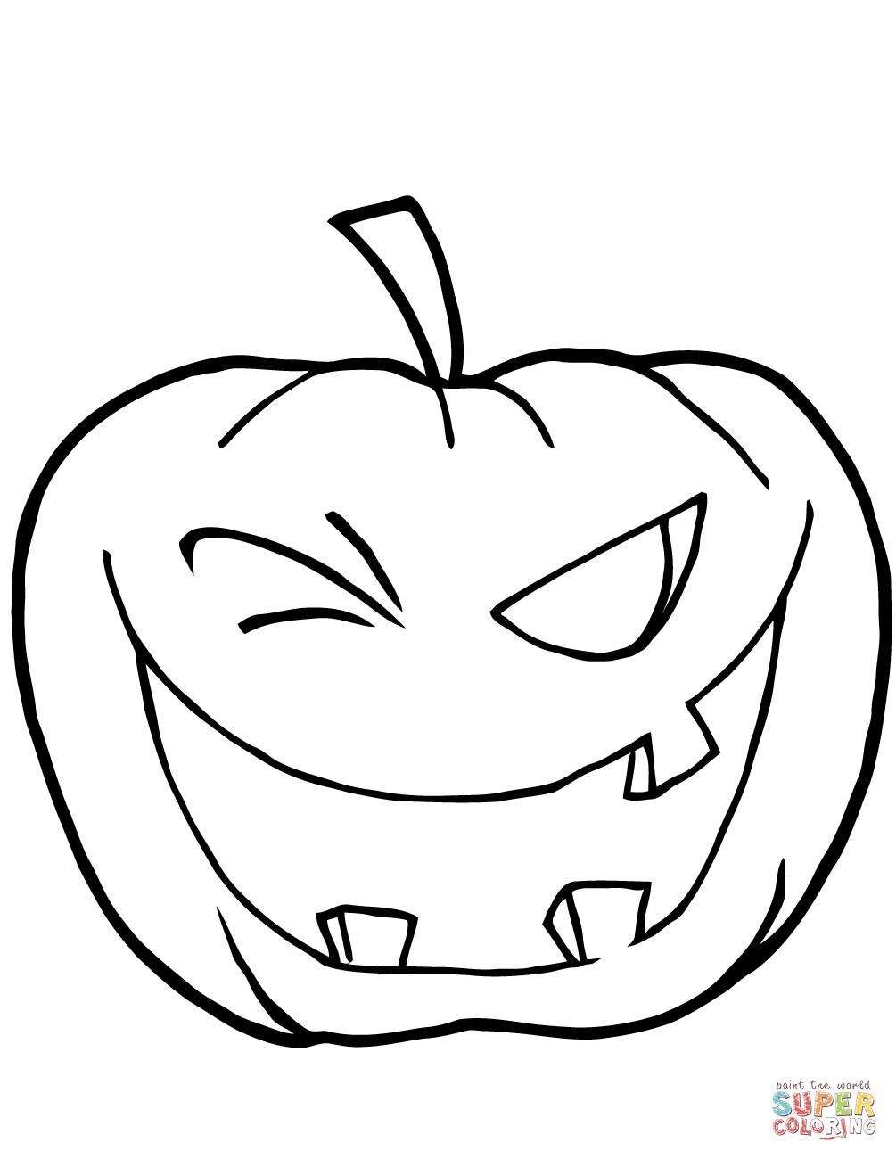 Pumpkins Coloring Pages