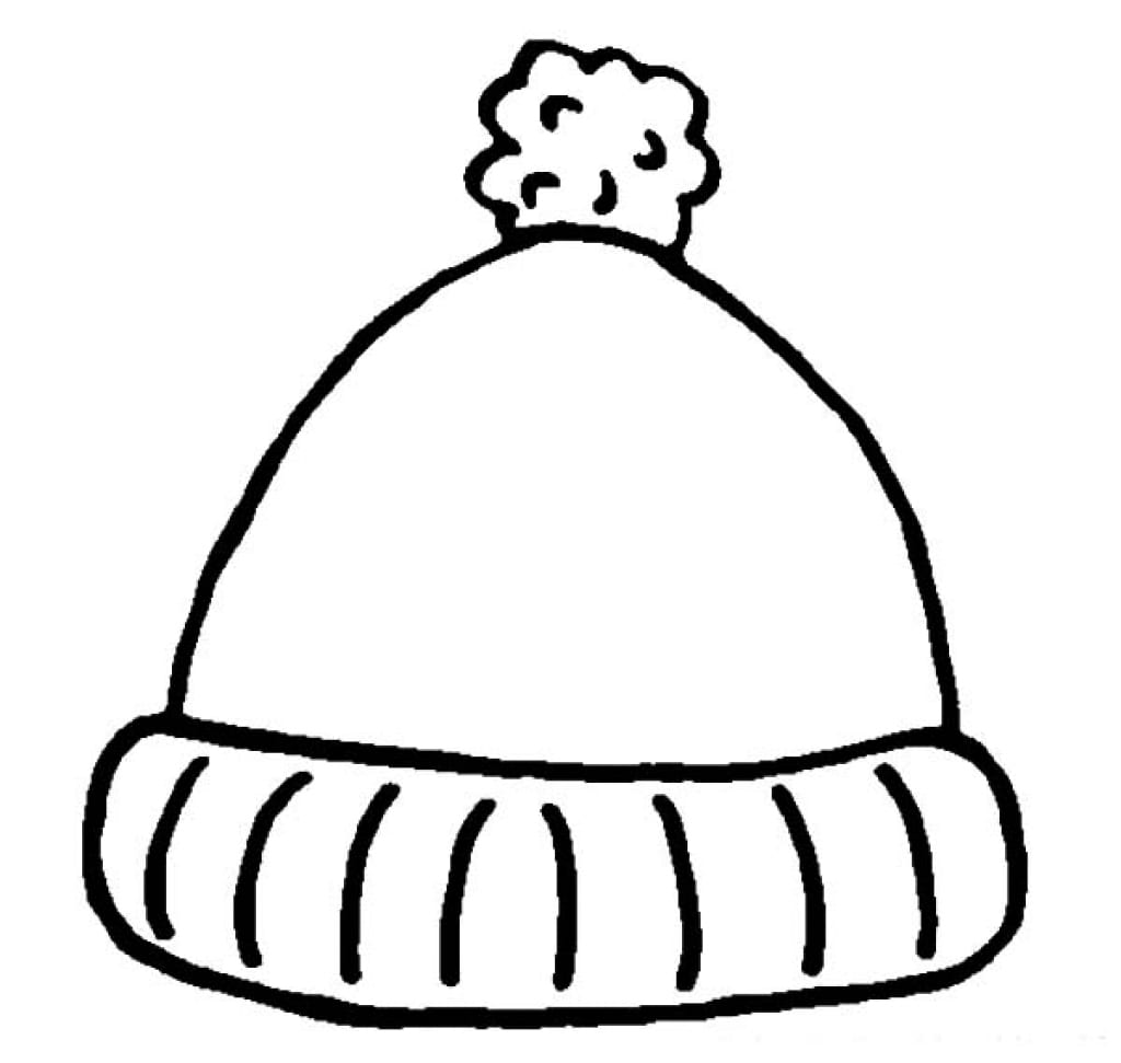 Hat Coloring Page With Wallpaper Photo Mayapurjacouture And Winter