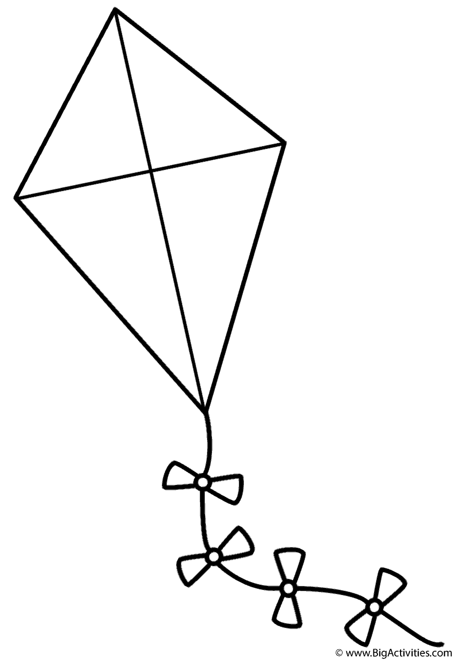 Kite With Bows