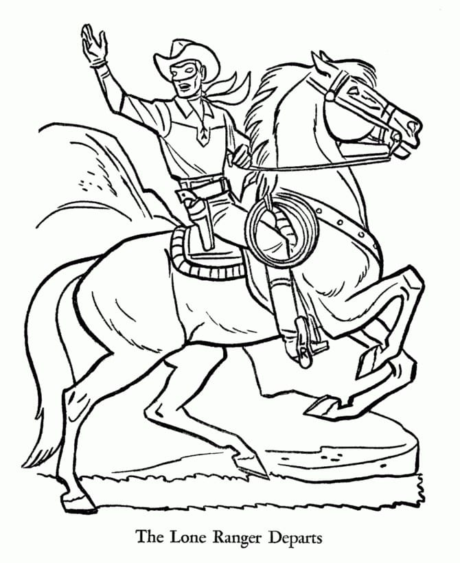 Lego Lone Ranger Coloring Pages Dipius The And Tonto Pagesheets