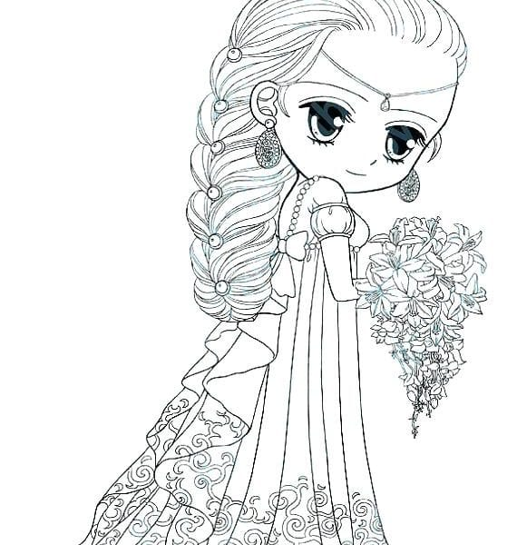 Cute Coloring Pages For Girls