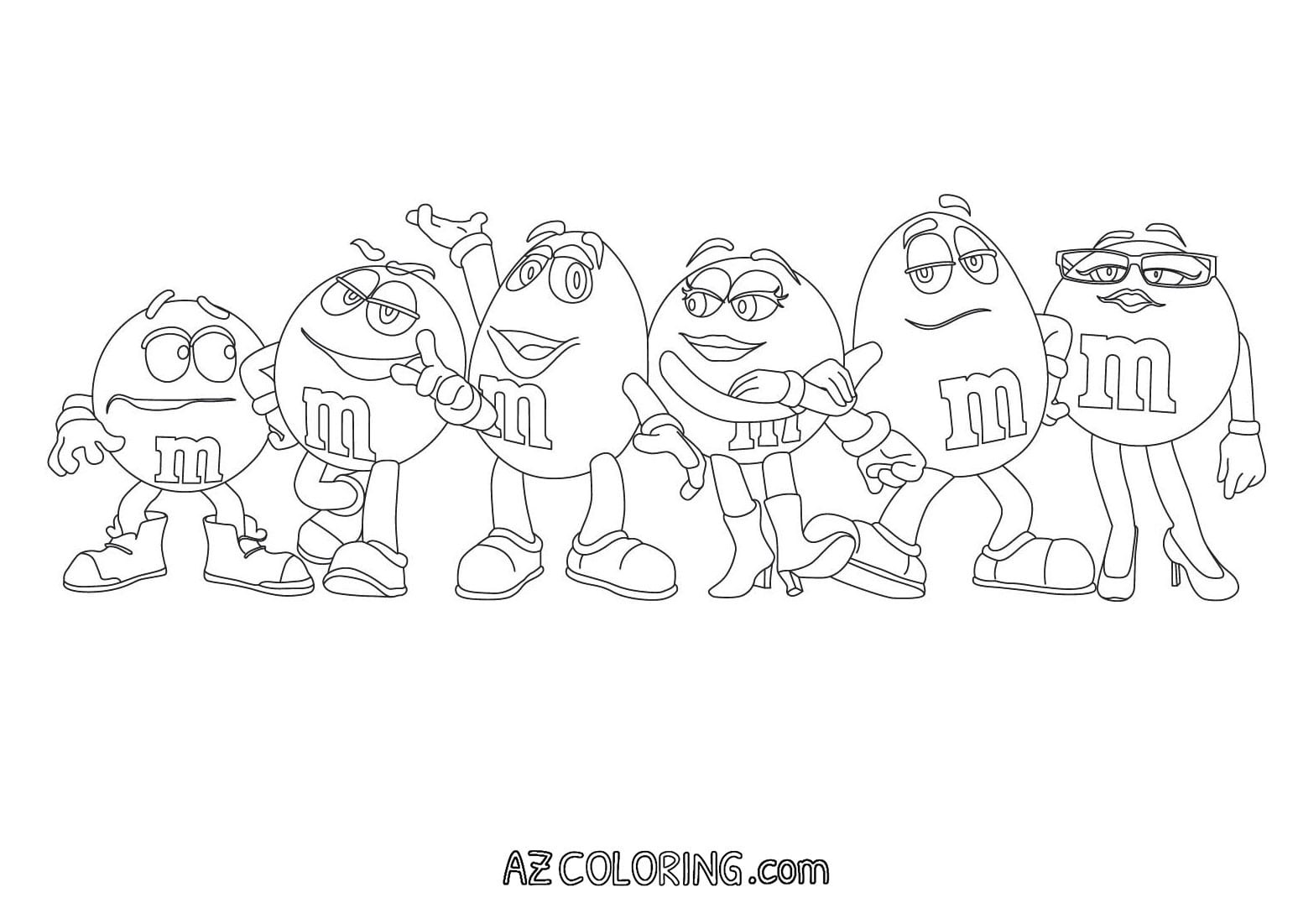 M Coloring Page Home Lovely Pages Robertjhastings Coloring For