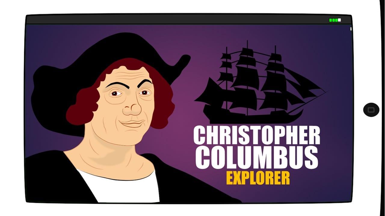 Christopher Columbus Day For Children Cartoon(educational Videos