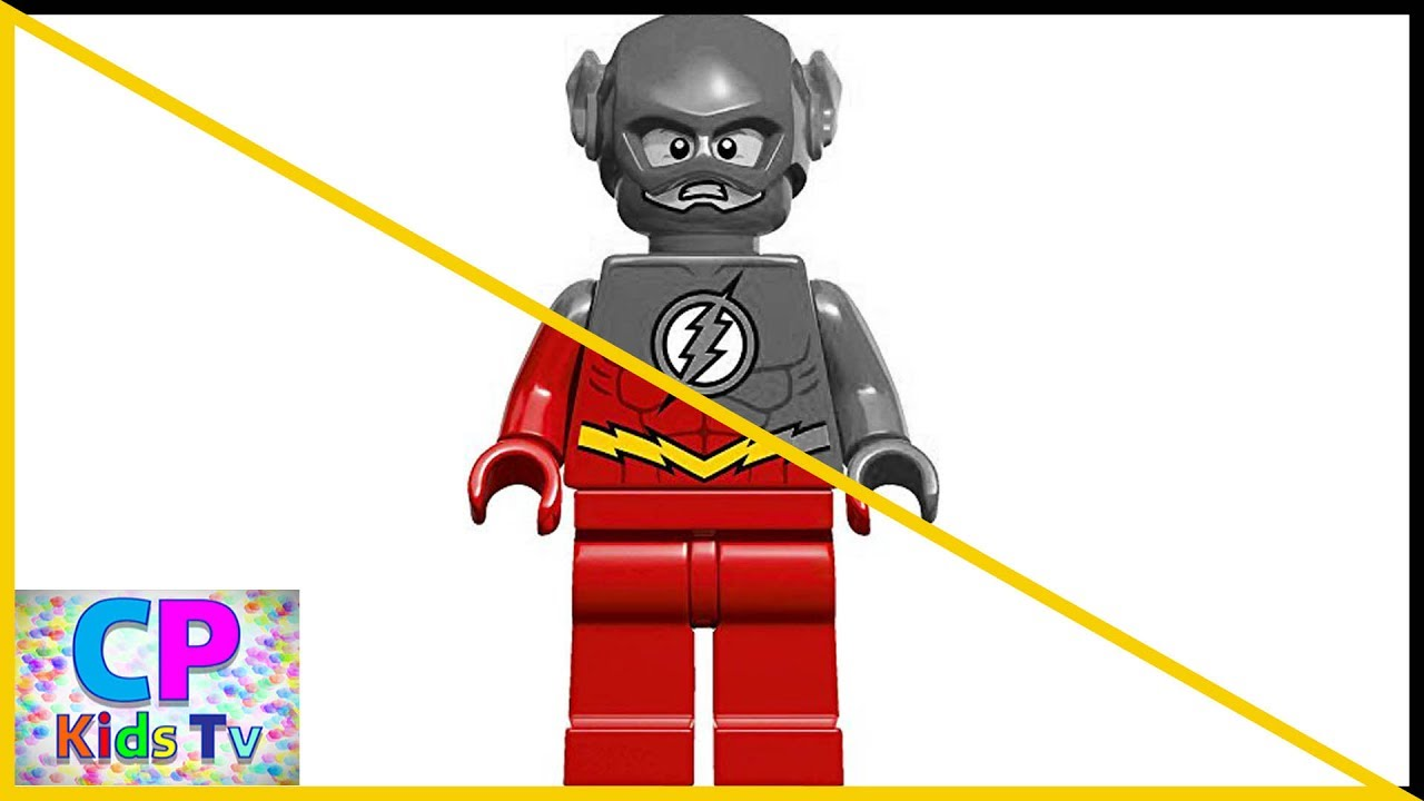 Ps Lego Flash Coloring Pages For Kids Part 1 , Flash Coloring
