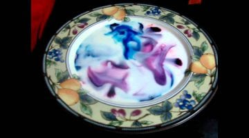 Milk Food Coloring And Dish Soap Experiment