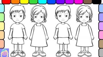 Pictures Of People To Color