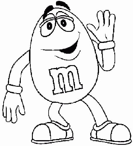 Mm Coloring Pages Inspirational Mm Coloring Pages Ideal M&m