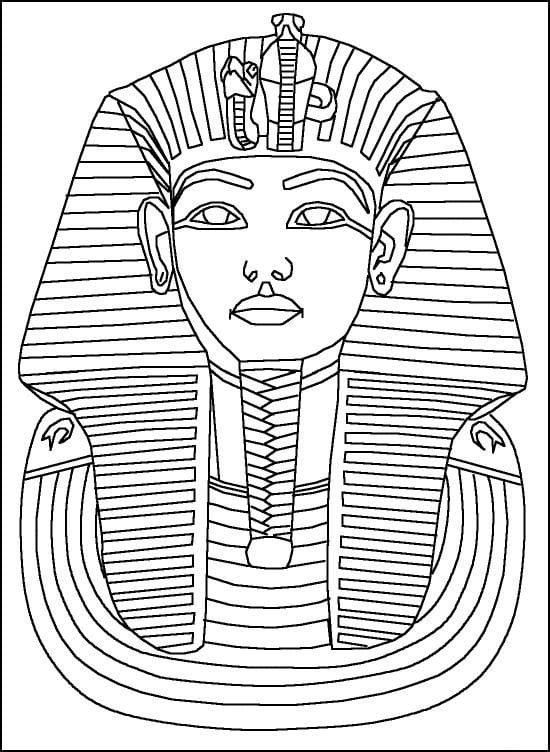 Printable Egyptian Colouring Pages