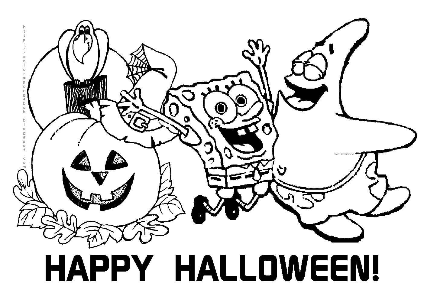 Printable Halloween Coloring Pages Page In