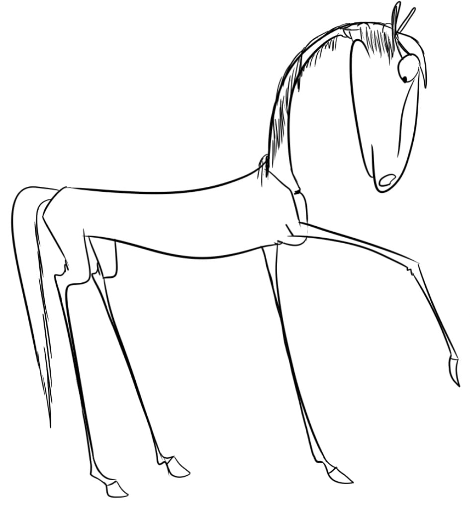 Step By Step Drawing Horses At Getdrawings Com