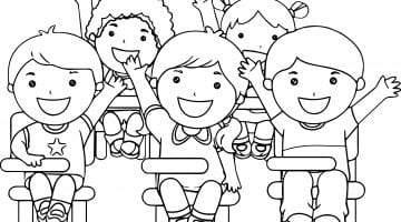 Coloring Pages Of Children